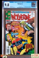 WOLVERINE MINUS #1 Cover A (1988 Series) - **CGC 9.8**